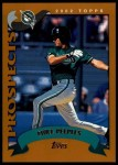 2002 Topps Traded #239 T Mike Peeples  Front Thumbnail