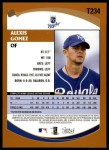 2002 Topps Traded #234 T Alexis Gomez  Back Thumbnail