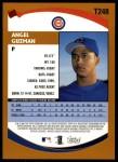 2002 Topps Traded #248 T Angel Guzman  Back Thumbnail