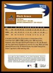 2002 Topps Traded #272 T  -  Mark Grace Who Would Have Thought Back Thumbnail