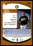 2002 Topps Traded #158 T Jason Arnold  Back Thumbnail