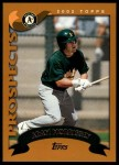 2002 Topps Traded #261 T Adam Morrissey  Front Thumbnail