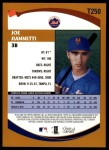2002 Topps Traded #250 T Joe Jiannetti  Back Thumbnail