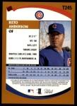 2002 Topps Traded #245 T Keto Anderson  Back Thumbnail
