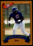 2002 Topps Traded #245 T Keto Anderson  Front Thumbnail
