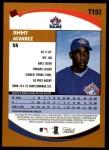 2002 Topps Traded #197 T Jimmy Alvarez  Back Thumbnail