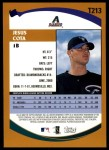 2002 Topps Traded #213 T Jesus Cota  Back Thumbnail