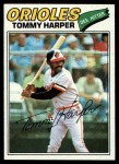 1977 Topps #414  Tommy Harper  Front Thumbnail