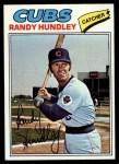 1977 Topps #502  Randy Hundley  Front Thumbnail