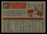 1959 Topps #313  Frank House  Back Thumbnail