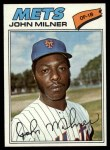 1977 Topps #172  John Milner  Front Thumbnail