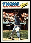 1977 Topps #249  Pete Redfern  Front Thumbnail