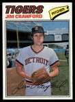 1977 Topps #69  Jim Crawford  Front Thumbnail