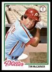 1978 Topps #235  Tim McCarver  Front Thumbnail