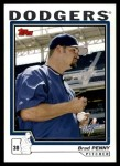2004 Topps Traded #61 T Brad Penny  Front Thumbnail
