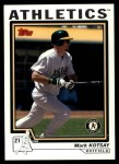 2004 Topps Traded #32 T Mark Kotsay  Front Thumbnail