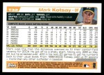 2004 Topps Traded #32 T Mark Kotsay  Back Thumbnail