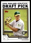 2004 Topps Traded #86 T Huston Street  Front Thumbnail