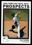 2004 Topps Traded #106 T Chad Gaudin  Front Thumbnail