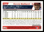 2004 Topps Traded #26 T Ronnie Belliard  Back Thumbnail