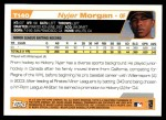 2004 Topps Traded #140 T  -  Nyjer Morgan First Year Back Thumbnail