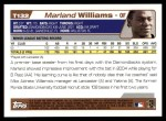 2004 Topps Traded #132 T  -  Marland Williams First Year Back Thumbnail