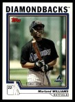 2004 Topps Traded #132 T  -  Marland Williams First Year Front Thumbnail