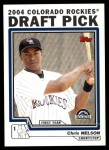 2004 Topps Traded #83 T Chris Nelson  Front Thumbnail