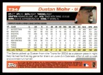 2004 Topps Traded #34 T Dustan Mohr  Back Thumbnail