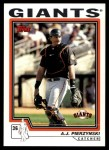 2004 Topps Traded #14 T A.J. Pierzynski  Front Thumbnail