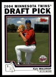 2004 Topps Traded #74 T Kyle Waldrop  Front Thumbnail