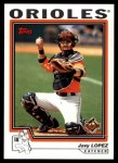 2004 Topps Traded #20 T Javy Lopez  Front Thumbnail