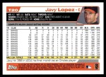 2004 Topps Traded #20 T Javy Lopez  Back Thumbnail