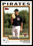 2004 Topps Traded #137 T  -  Paul Maholm First Year Front Thumbnail