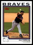2004 Topps Traded #143 T  -  Jose Capellan First Year Front Thumbnail