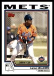 2004 Topps Traded #117 T  -  Aarom Baldiris First Year Front Thumbnail