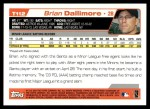 2004 Topps Traded #112 T  -  Brian Dallimore First Year Back Thumbnail