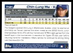 2004 Topps Traded #121 T  -  Chin-Lung Hu First Year Back Thumbnail