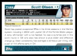 2004 Topps Traded #122 T  -  Scott Olsen First Year Back Thumbnail