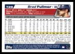 2004 Topps Traded #28 T Brad Fullmer  Back Thumbnail