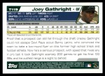 2004 Topps Traded #119 T  -  Joey Gathright First Year Back Thumbnail