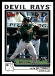 2004 Topps Traded #119 T  -  Joey Gathright First Year Front Thumbnail
