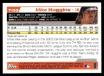 2004 Topps Traded #133 T  -  Mike Huggins First Year Back Thumbnail