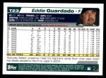2004 Topps Traded #23 T Eddie Guardado  Back Thumbnail