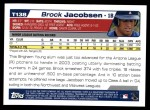 2004 Topps Traded #138 T  -  Brock Jacobsen First Year Back Thumbnail