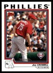 2004 Topps Traded #113 T  -  Jim Crowell First Year Front Thumbnail
