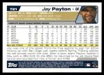 2004 Topps Traded #21 T Jay Payton  Back Thumbnail