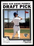 2004 Topps Traded #71 T Matt Bush  Front Thumbnail