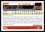 2004 Topps Traded #125 T  -  Tim Hutting First Year Back Thumbnail