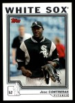 2004 Topps Traded #57 T Jose Contreras  Front Thumbnail